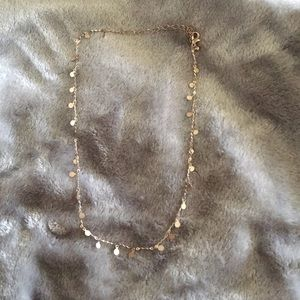 Gold forever 21 necklace
